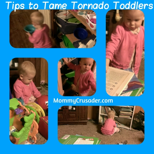 Tips to Tame Tornado Toddlers | MommyCursader.com