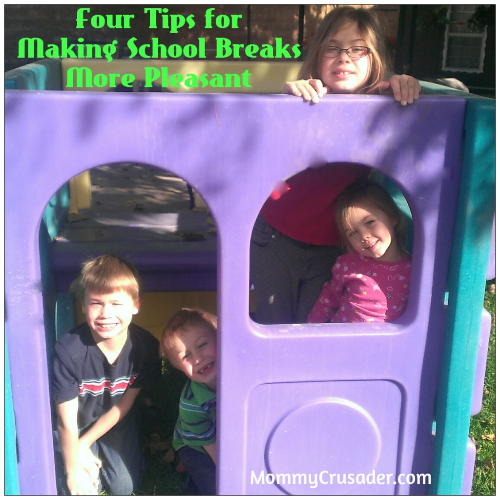 Four Tips for Making School Breaks More Pleasant