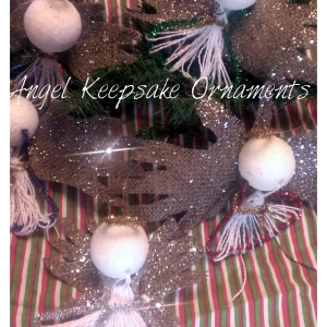 Angel Keepsake Ornaments | MommyCrusader.com