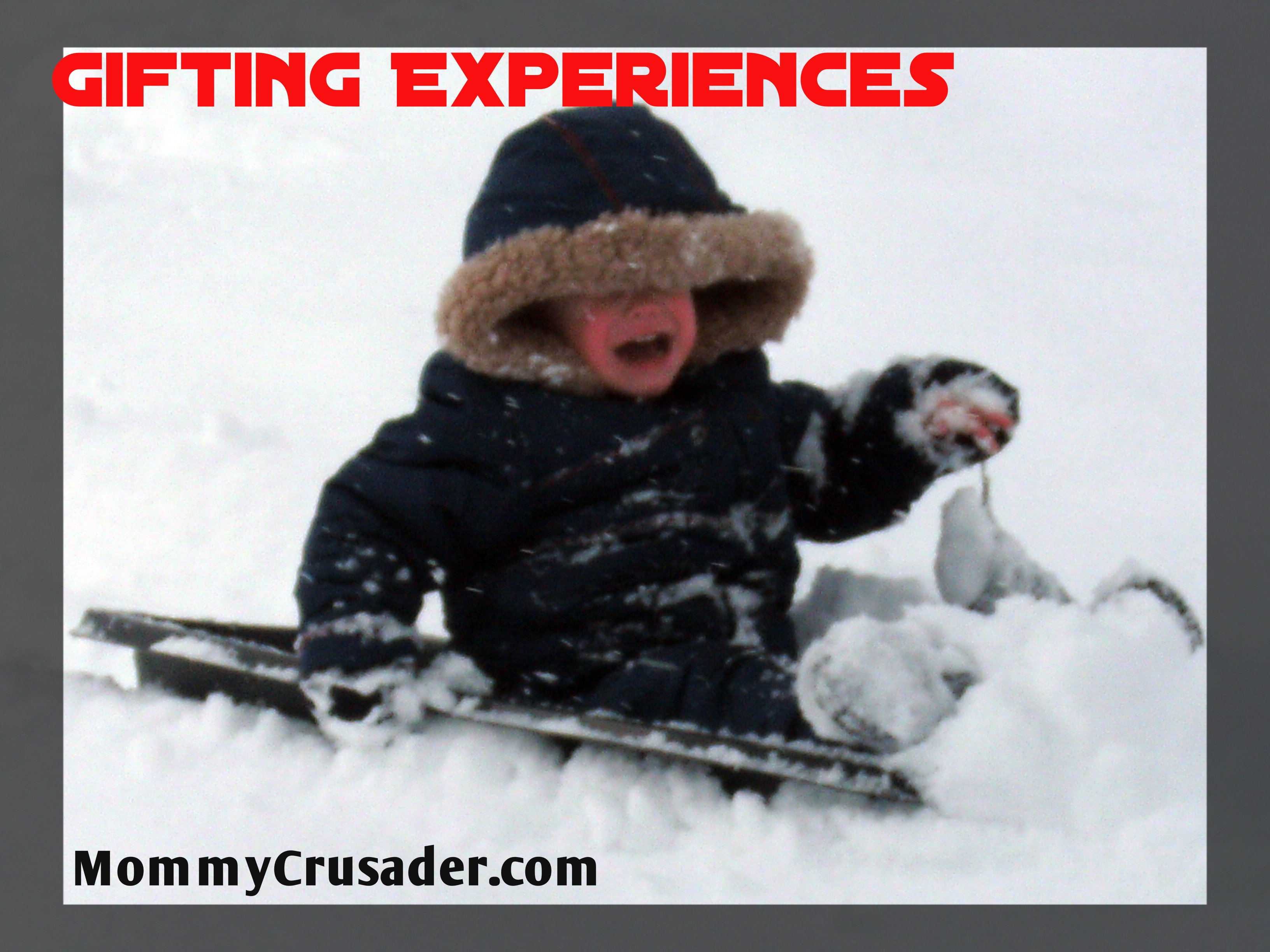 Gifting Experiences | MommyCrusader.com