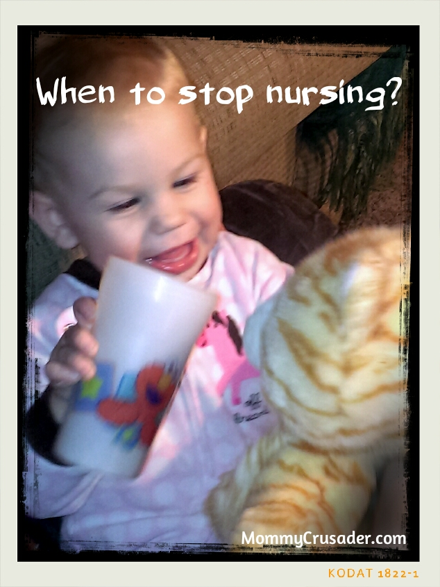 When to stop nursing? | MommyCrusader.com