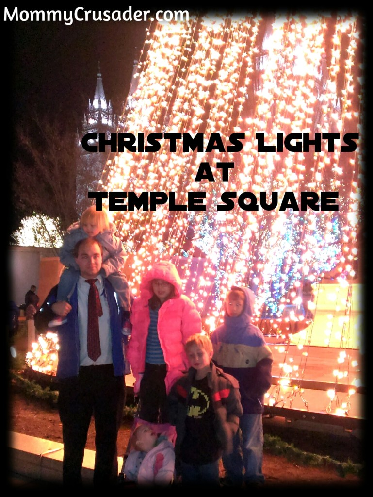 Christmas Lights at Temple Square | MommyCrusader.com