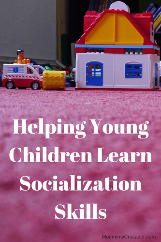 It's hard sometimes to get along with others, and our children need help learning the skills that will help them socialize with their peers. This article talks about how to help young children learn these skills.
