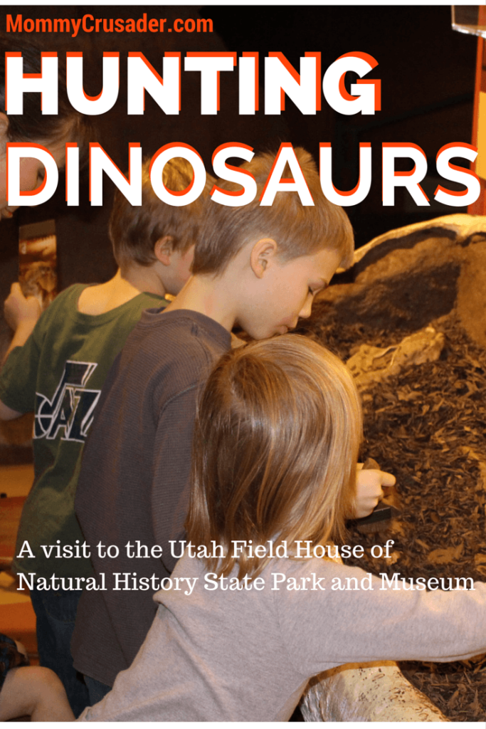 The Utah Field House of Natural History State Park Museum is a wonderful place to visit for young dinosaur lovers. We spent a day there with our kids and had a fantastic time -- they didn't want to leave.